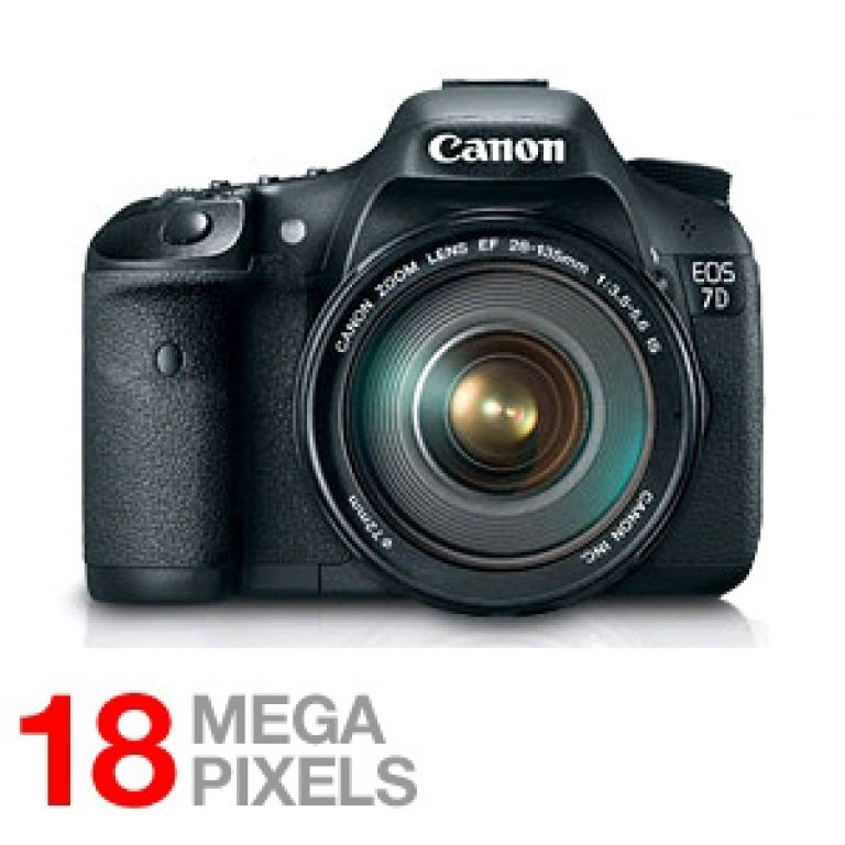 Canon EOS 7D Digital SLR Camera 18.0 Megapixel